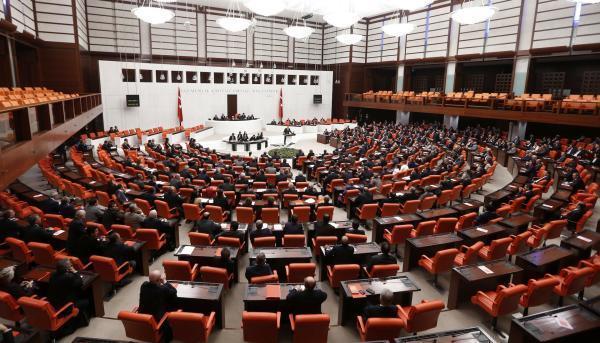Turkish Parliament convene for a debate in Ankara