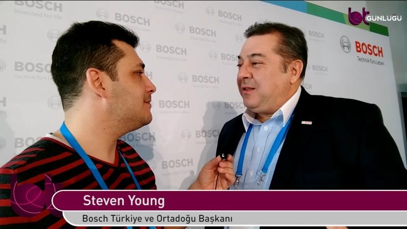 Bosh Türkiye ve Ortadoğu Başkanı Steven Young
