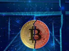 Bitcoin sert düşüşle