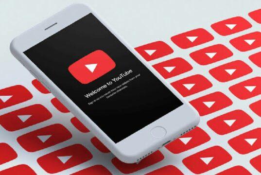 YouTube arayüz denemeleriyle