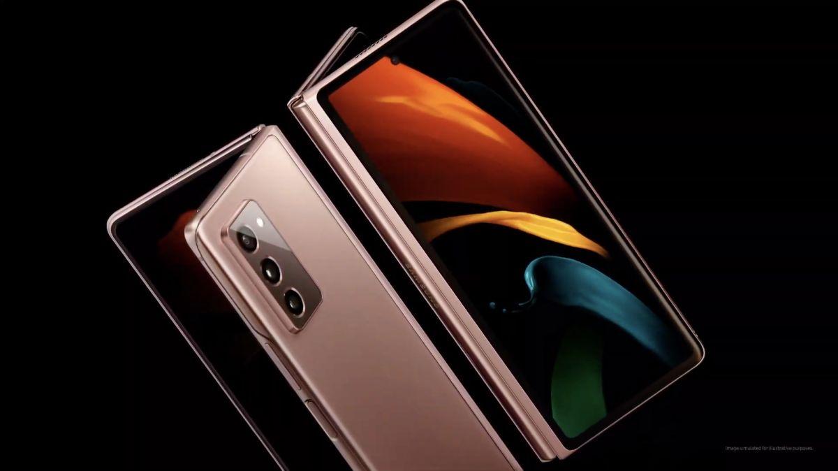 Samsung Galaxy Z Fold3 ekran altı kamer