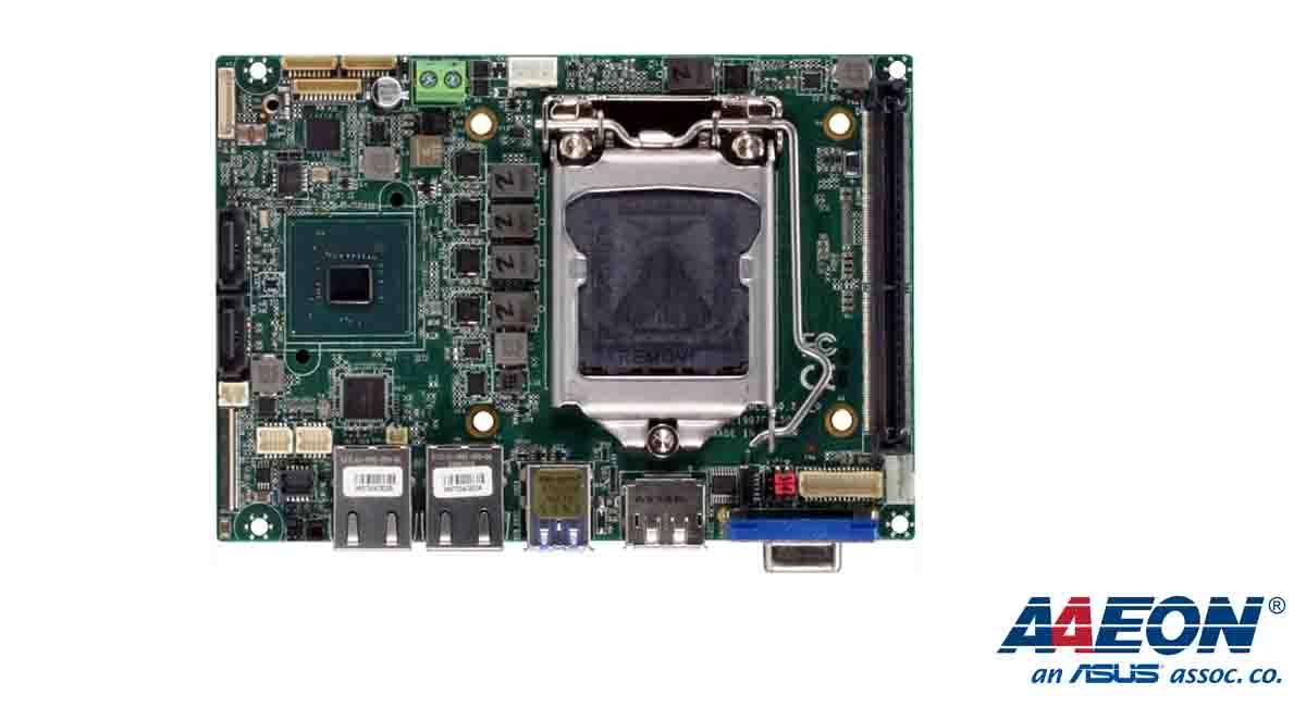 10. Nesil Intel işlemcileri destekleyen bir anakart ancak bu kadar Raspberry Pi boyutuna yaklaşabilir