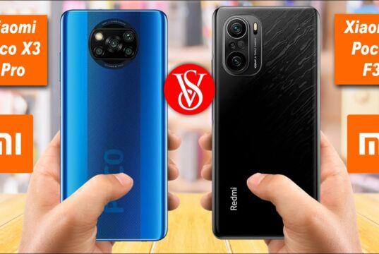 Xiaomi Poco F3 vs Xiaomi Poco X3 Pro