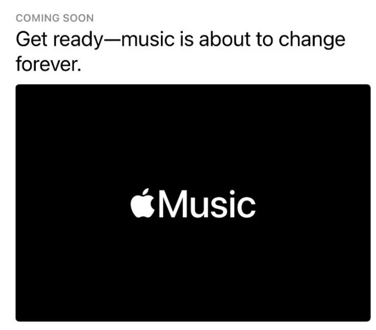 Apple, Müziği Sonsuza Dek Değiştireceğini Söylüyor