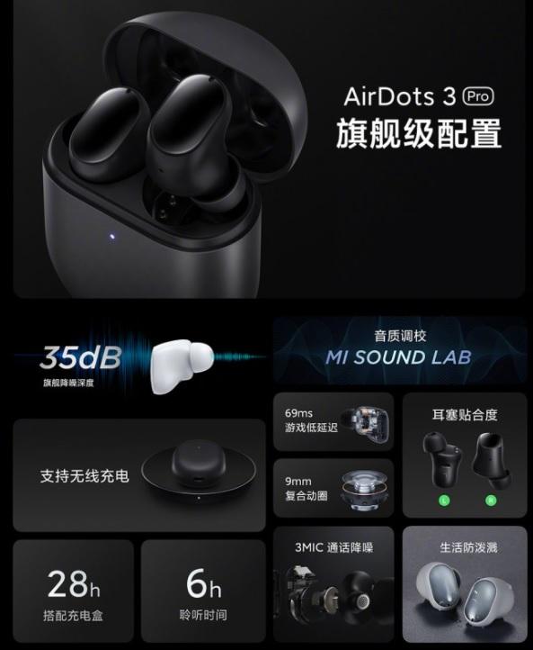 Redmi AirDots 3 Pro Resmiyet Kazandı! İşte Özellikleri ve Fiyatı