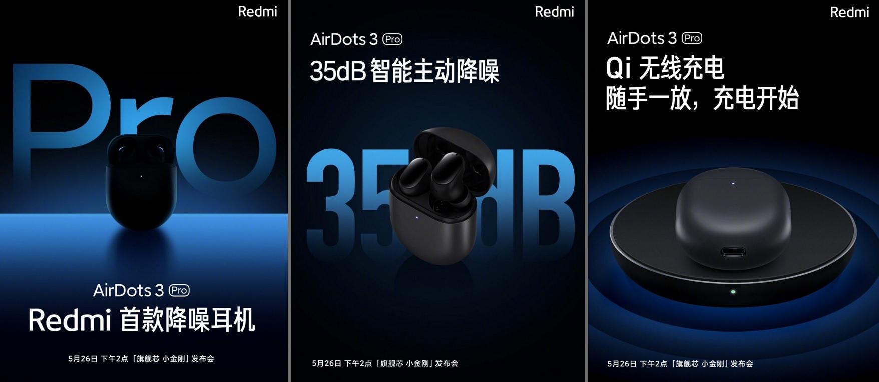 Xiaomi'den Fiyat Performans Kulaklığı: Redmi AirDots 3 Pro