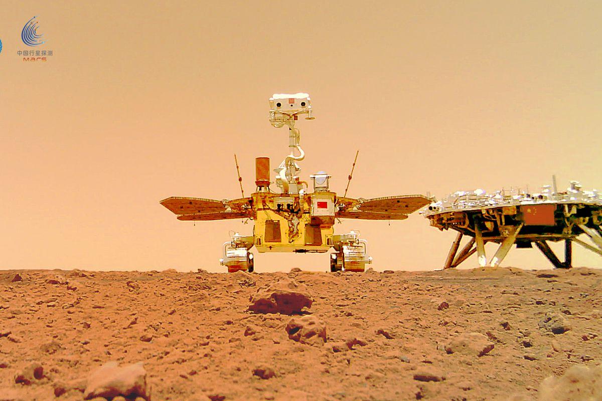 Çin'in Mars aracı