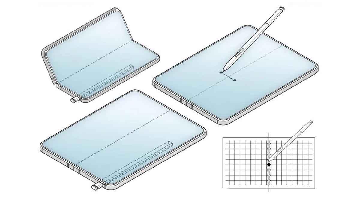 Galaxy Z Fold 3 kılıfı kalem için tasarlanan bir yuva ile gelecek
