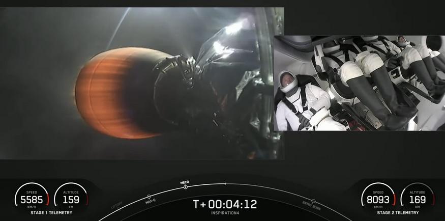 SpaceX, Tümü Sivillerden Oluşan Dünya'nın İlk Uzay Uçuşunu Başlattı
