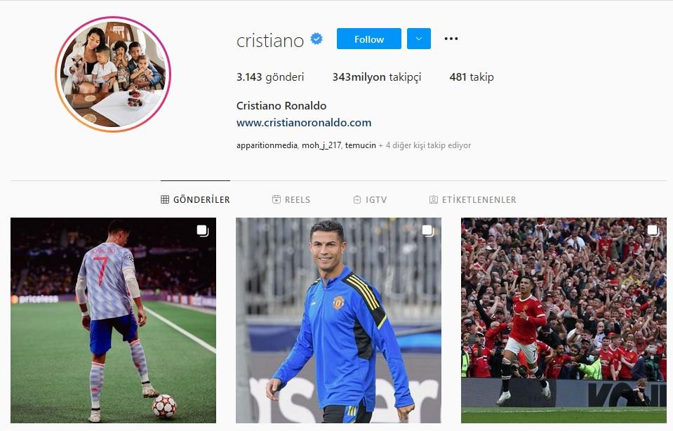 Britney Spears 'tan Instagram Açıklaması Geldi, Bu Arada Instagram'ın Kralı Hâlâ Ronaldo!